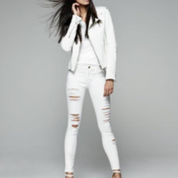 Frame Denim Jeans | Ripped White | Poshmark
